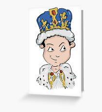 Sherlock Moriarty Andrew Scott Cartoon Greeting Card