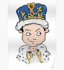 Sherlock Moriarty Andrew Scott Cartoon Poster