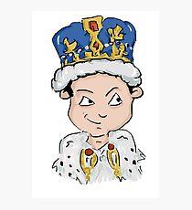 Sherlock Moriarty Andrew Scott Cartoon Photographic Print