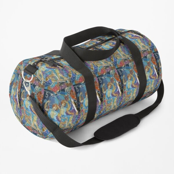 Five Stars of the Night Queen Duffle Bag