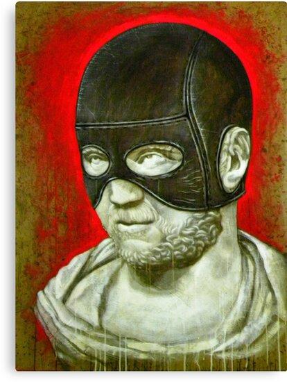 """Masked Caracalla"" by BryanLanier"