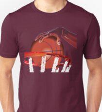 Basketball Slam Dunk Point Print  Unisex T-Shirt
