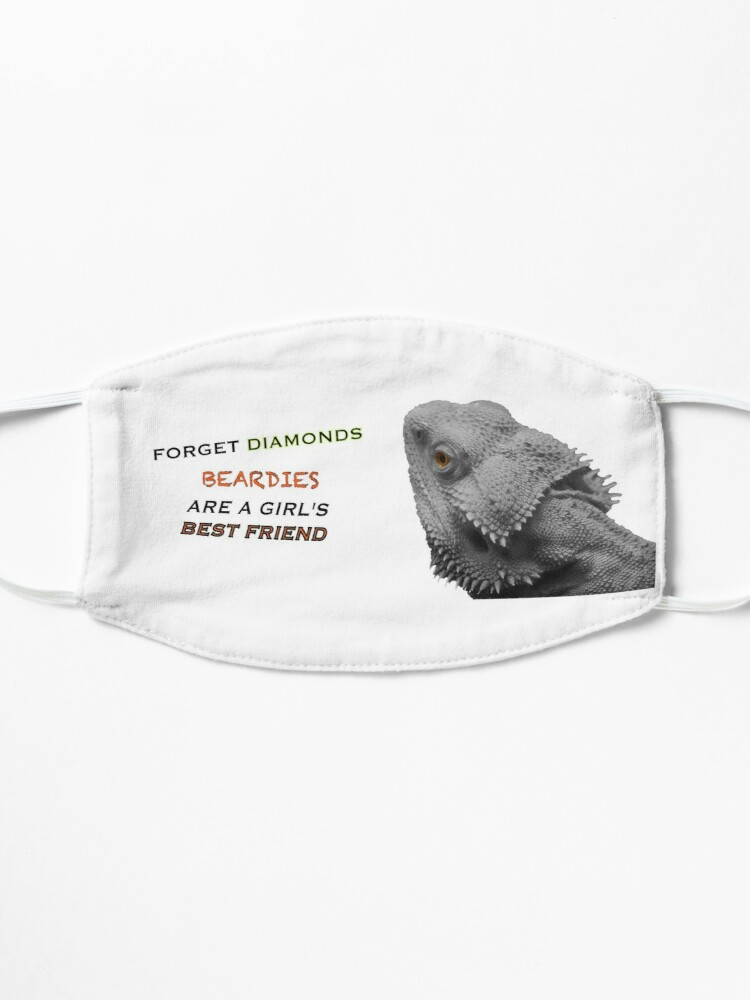 Alternate view of Forget Diamonds - Beardies Are A Girls Best Friend Mask