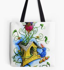Faberge Flower Tote Bag