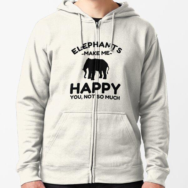 Elefantengeschenke - Lustige Elefantenliebhaber T- Geschenk Kapuzenjacke