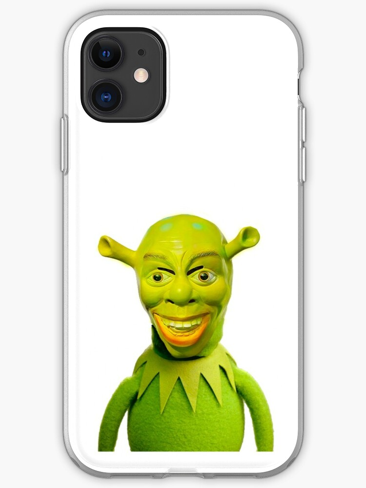 Kermit X Cursed Shrek Iphone Case Cover By Wendigoo Redbubble