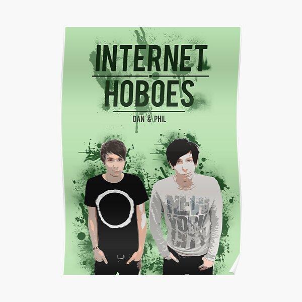 Dan & Phil - Green Poster