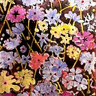"Multi-color Flower Etching by Belinda ""BillyLee"" NYE (Printmaker)"