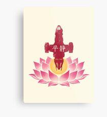 Serenity in Bloom Metal Print