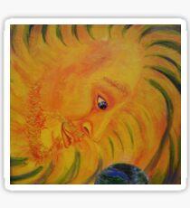 Atmun Ra, Sun God Sticker