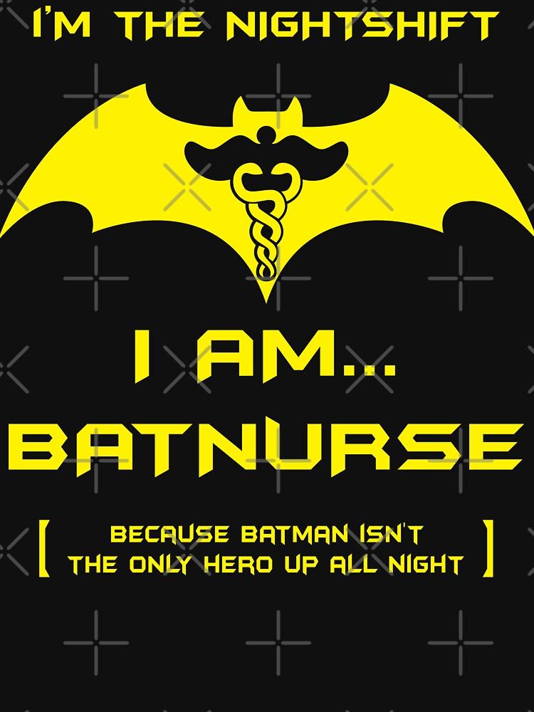 I'm The Nightshift. I Am Bat Nurse! by wantneedlove