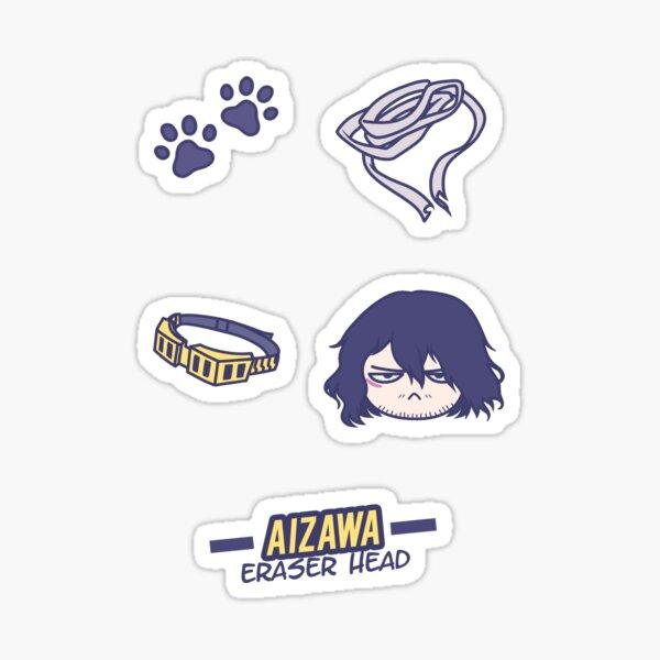 Aizawa - Eraser Head Sticker