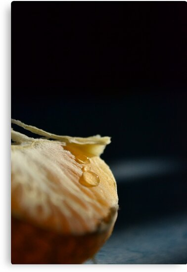 Tangerine slice by Luis Alberto Landa Ladron de Guevara