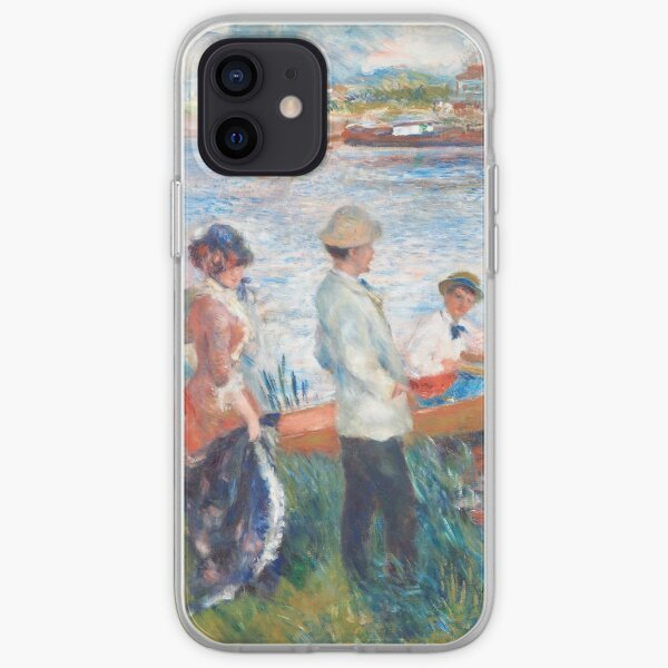 1841 - 1919). Oil on canvas (1879). iPhone Soft Case
