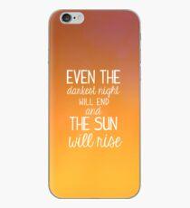 Vinilo o funda para iPhone Les Miserables-The Sun Will Rise