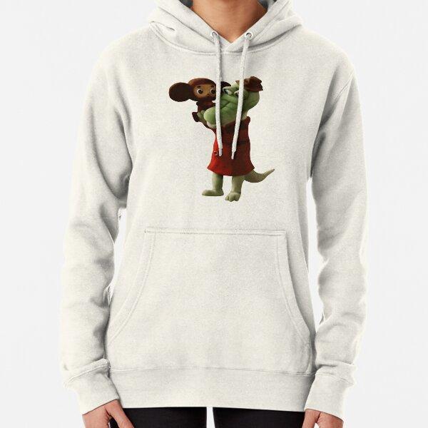 Cheburashka & Gena Pullover Hoodie