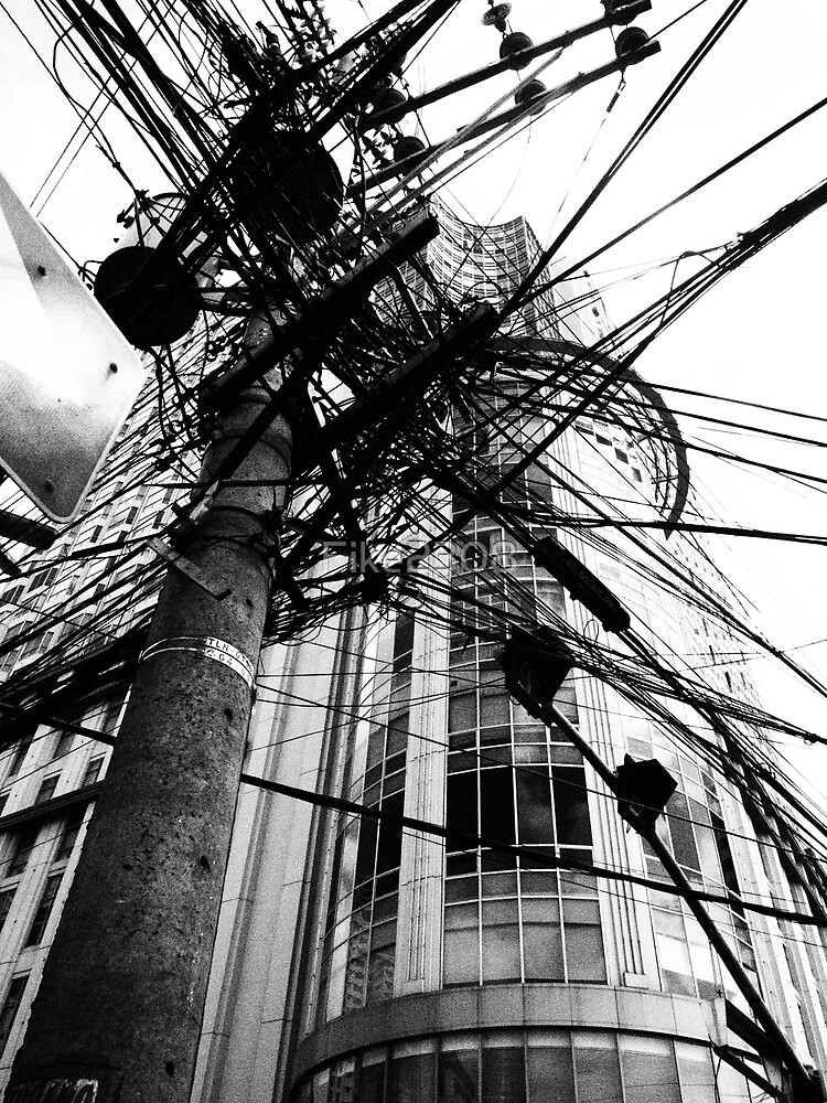 Urban Manila in Black and White by Fike2308