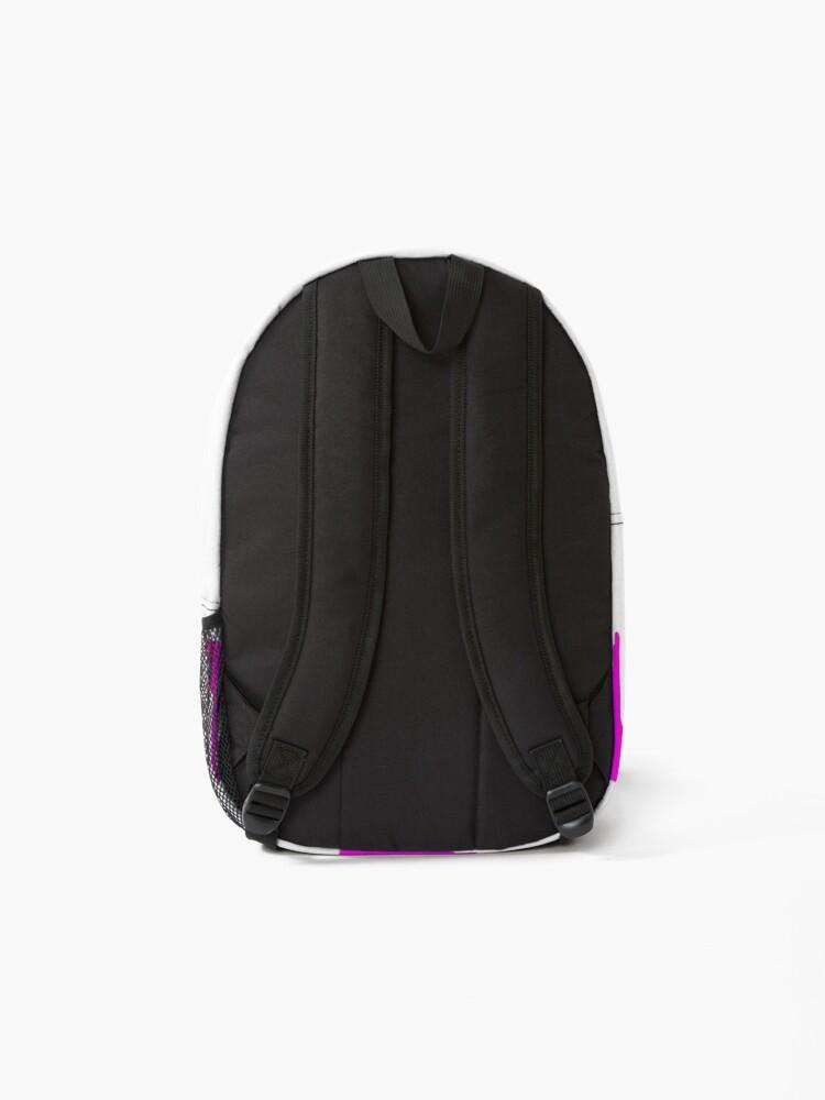 Alternate view of Rainbow Paint Drip  Backpack