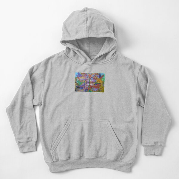 Four Corners of the Mind Kids Pullover Hoodie