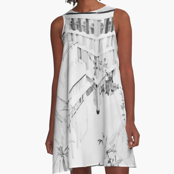 Freedom and form A-Line Dress