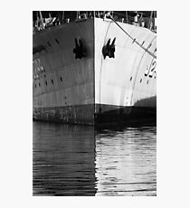 Bow Reflections Photographic Print