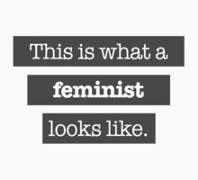 This is what a Feminist looks like | Unisex T-Shirt