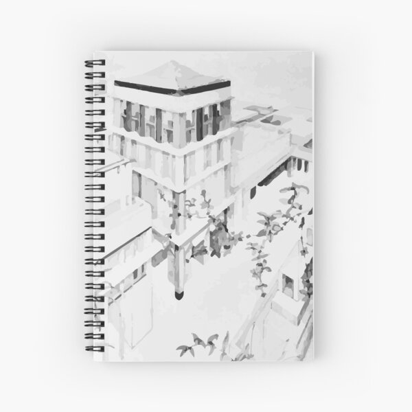 Freedom and form Spiral Notebook