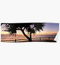 Sunrise - Lennox Head NSW Poster