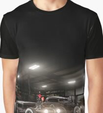 1930 Ford Model A Rat Rod & 1934 Chevrolet Pickup Graphic T-Shirt