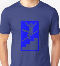 It is compulsory to slide down banisters Unisex T-Shirt