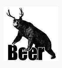 Beer Fun Photographic Print
