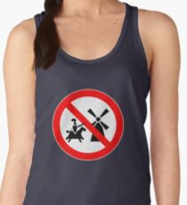 Tilting At Windmills Prohibited Women's Tank Top