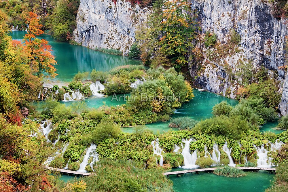 Plitvice Lakes National Park by Artur Bogacki