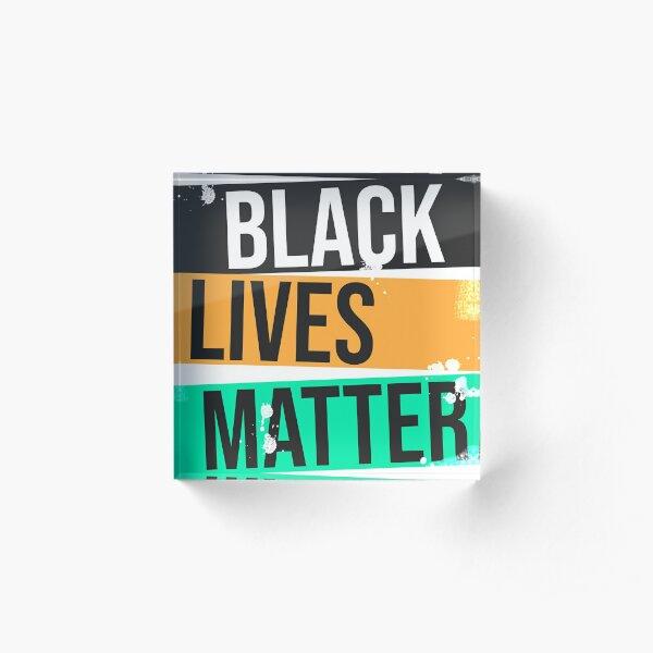 Black Lives Matter Movement Acrylblock