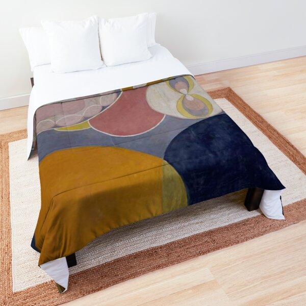 De tio största, n° 2 Barnaaldern (1907) - Hilma af Klint Comforter