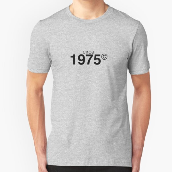 1975 Slim Fit T-Shirt