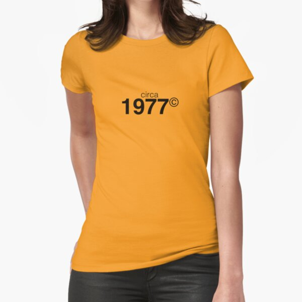 1977 Fitted T-Shirt