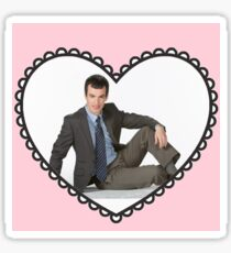 I Heart Nathan Fielder Sticker