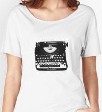 Jack Kerouac Typewriter Women's Relaxed Fit T-Shirt