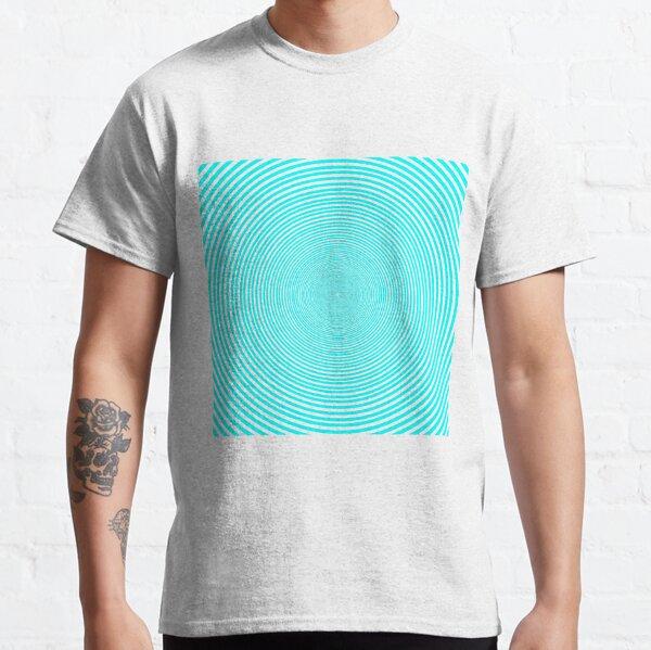 Optical illusion Concentric Circles Geometric Art - концентрические круги Classic T-Shirt