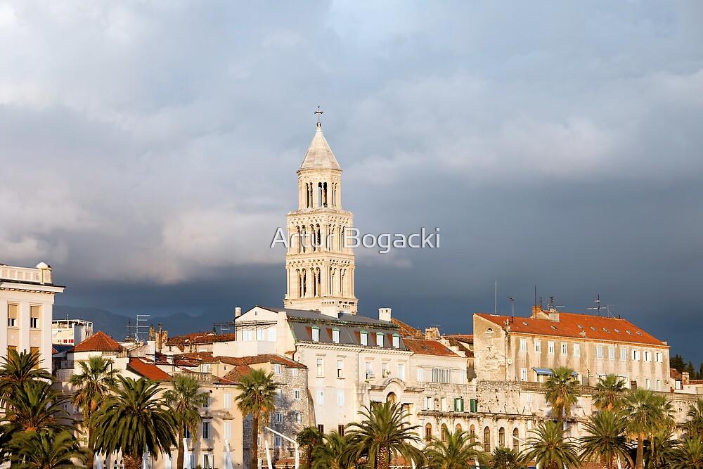 Split Old Town by Artur Bogacki