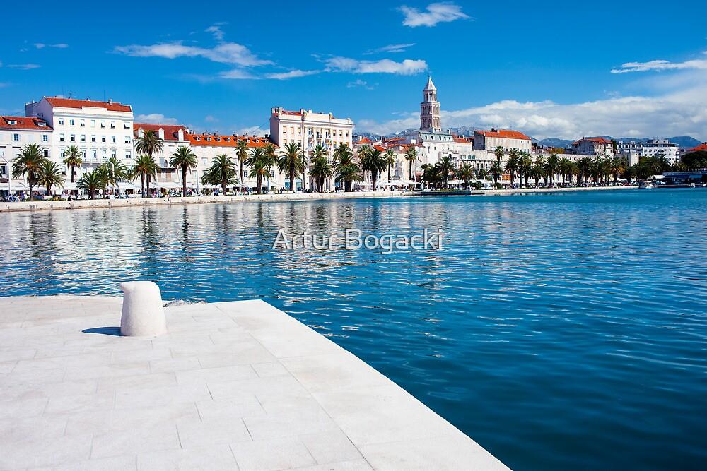 City of Split in Croatia by Artur Bogacki