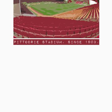 Pittodrie Stadium.  Home by givemeone