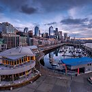 Seattle Bell Street Pier by Dan Mihai