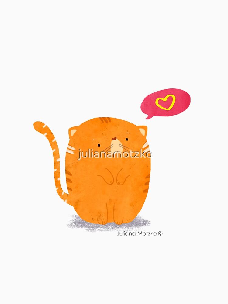 Fat Cat by julianamotzko