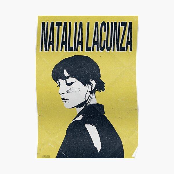 Natalia Lacunza | Retro Póster
