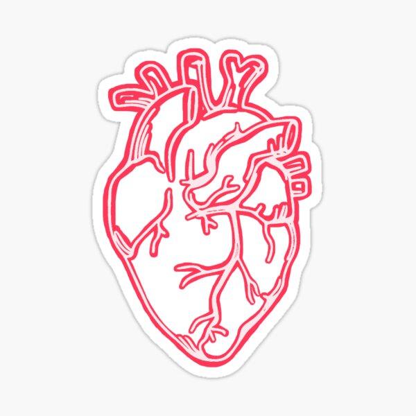Neon Heart Sticker