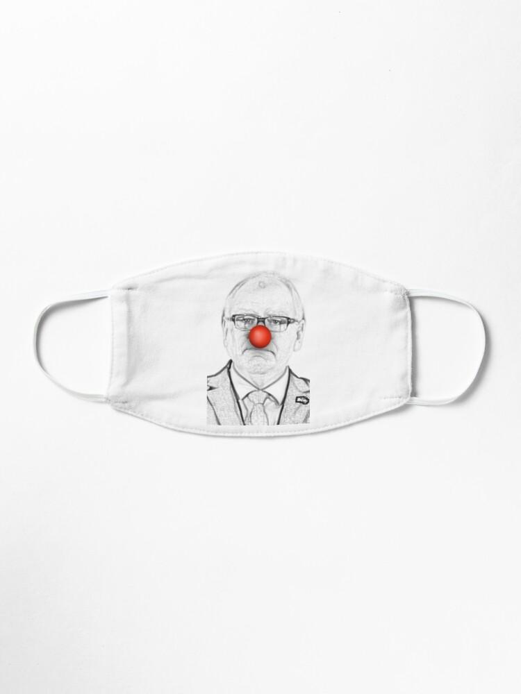 Alternate view of Minnesota Clown Mask