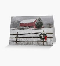 Clarks Valley Christmas Greeting Card