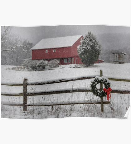Clarks Valley Christmas Poster